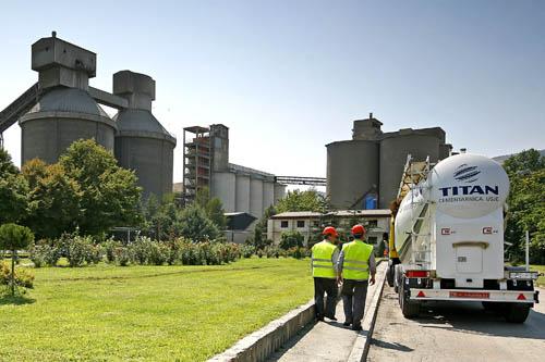 Βόρεια Μακεδονία - εργοστάσιο τσιμέντου Usje