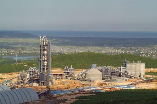 Αλβανία - εργοστάσιο τσιμέντου Antea