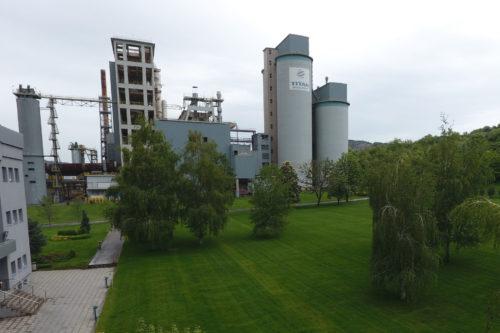 Βουλγαρία - εργοστάσιο τσιμέντου Zlatna