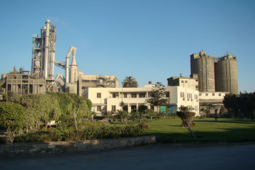 Αίγυπτος - εργοστάσιο τσιμέντου Alexandria