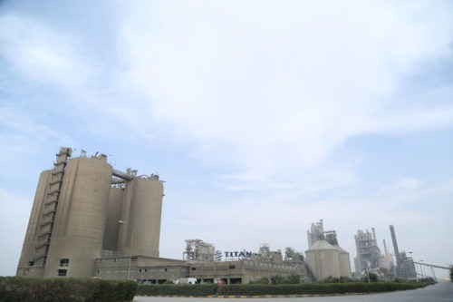 Αίγυπτος - εργοστάσιο τσιμέντου Beni Suef