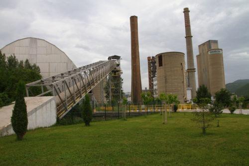Κόσοβο - εργοστάσιο τσιμέντου Sharr