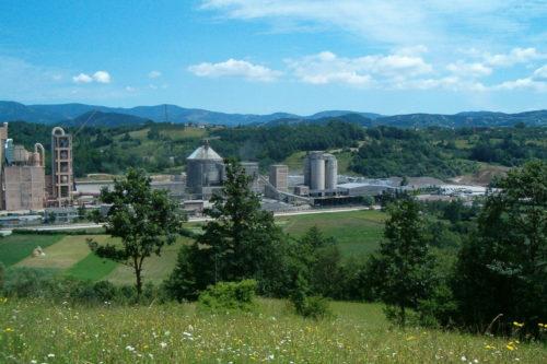 Σερβία - εργοστάσιο τσιμέντου Kosjeric