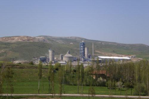 Τουρκία - εργοστάσιο τσιμέντου Tokat